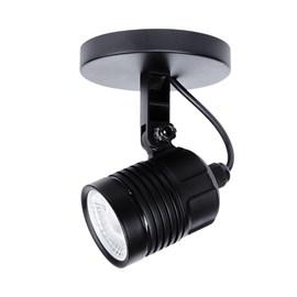 Spot LED Hummer 6W Luz Branca Bivolt Preto Avant