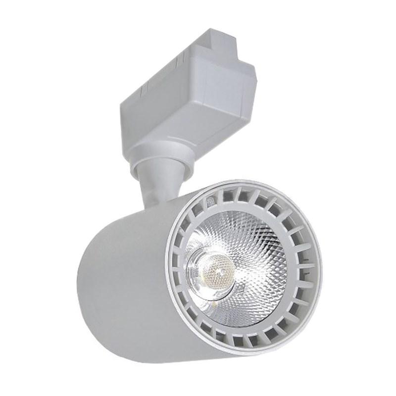 Spot Trilho LED Branco 10W Luz Amarela Bivolt Empalux