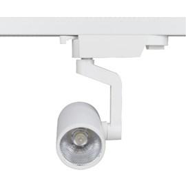 Spot Trilho LED Dicróica Branco Luz Amarela Bivolt Romalux