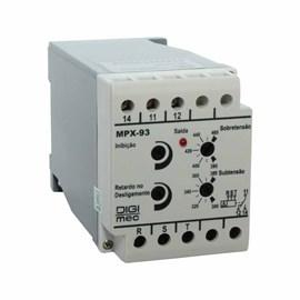 Supervisor de Redes Trifásico para F/Fase-Seq. - Sub.Sob Tensão 380V Digimec