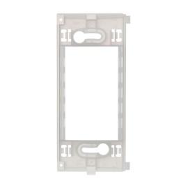 Suporte 4x2 ou 4x4 3 módulos Branco Duale Up Iriel