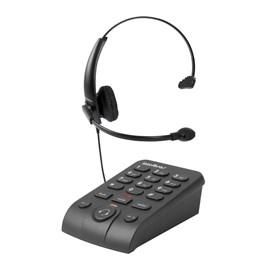 Telefone HeadSet HSB50 Preto Intelbras