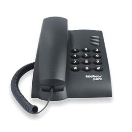 Telefone Pleno com Fio Preto Intelbras