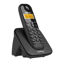 Telefone sem Fio com Identificador de Chamadas TS-3110 Preto Intelbras