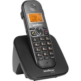 Telefone sem Fio com Identificador de Chamadas TS-5120 Preto Intelbras