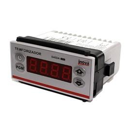 Temporizador Digital INV-49101 24VCA a Rele 75X33X59 Inova