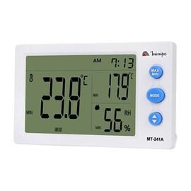 Termo-Higrômetro MT-240 Horario/Temperatura/Umidade Minipa