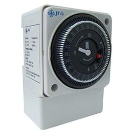 Timer Analógico Para Trilho 220VCA 16A 1 Reversível 60Hz JNG