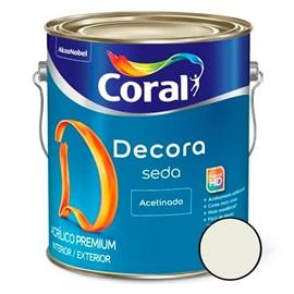 Tinta Acrílica Acabamento De Seda Acetinado Branco Coral 3,6 Litros