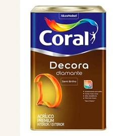 Tinta Acrílica Premium Semi Brilho Decora Branco Coral 18litros