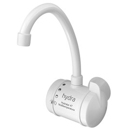 Torneira Elétrica de Parede Hydralar Branca 4 Temperaturas 5500W 127V Hydra