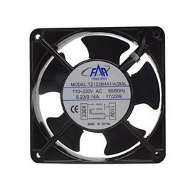 Ventilador de Painel 120x120x38 110/220V Embutido Rolamento Maxtech