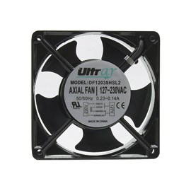 Ventilador de Painel 120x120x38 127/230V Embutido DF12038HSL2 com Bucha Maxtech