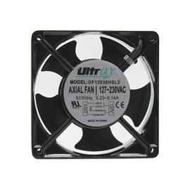 Ventilador de Painel 120x120x38 127/230V Embutido DF12038HSL2 Rolamentado Maxtech