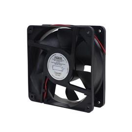 Ventilador de Painel 120x120x38 24VDC Embutido 12038D24MS com Bucha Metaltex