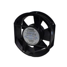 Ventilador de Painel 172x150x51 110/220VCA Embutido 17251ABHSL Rolamento Metaltex