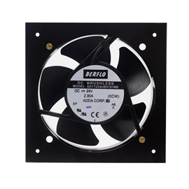 Ventilador de Painel 172x150x55 24VCC Embutido AD17224UB5151M0 Rolamento Maxtech