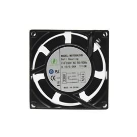 Ventilador de Painel 80x80x38 110/220V Embutido MO75BA2HB Rolamentado Maxtech