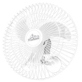 Ventilador de Parede Premium 60CM Bivolt Branco Venti Delta
