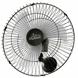 Ventilador de Parede Premium 60cm Preto Bivolt Venti-Delta