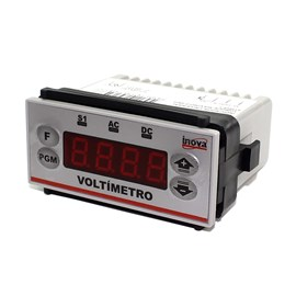 Voltímetro Digital Indicador Universal INV-98103 12VCC/VCA Inova